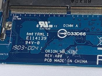 ORION MB N18E REV A00 0900dh 900dh CN-0900DH dla Dell Alienware m15 M17 płyta główna sr3yy i7-8750h rtx2060 6g działa idealnie