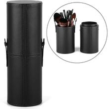 YBLNTEK Makeup Brush Holder Professional Storage Leather Travel Case Cosmetics Bags Organizer for Women Girl