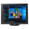 12 inch Mini PC Display Monitor 1024x768 HD VGA Resistive Touch Screen Monitor POS Machine Small Touch Monitor