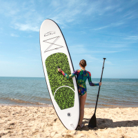 Inflatable Stand Up Paddle Board Sup Board Surfboard Kayak Surf set 10'x30''x6''with Backpack,leash,pump,waterproof bag