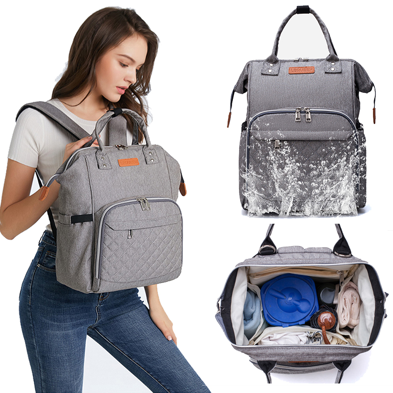 Fashion Mummy Maternity Nappy Bag Multifunctional Baby Diaper Bags Organizer Waterproof Bag Mummy Bag Travel Backpack Nappy Bag