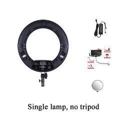 Yidoblo FD-480II Bi-color Photo Studio Ring Light LED Video Lamp Photographic Day Lighting 96W 5500K LED RingLights Freeshipping