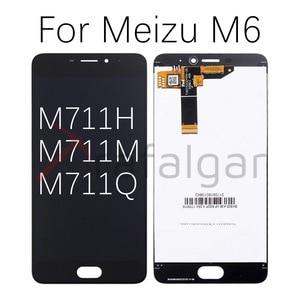 Image 2 - Para meizu m6 display lcd de toque digitador da tela m711h m711m m711q m712h m712q m811q 6t m6s s6 lcd para meizu m6t tela lcd