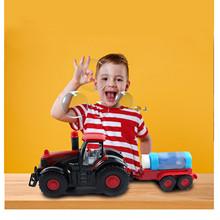 Nowe bańki mydlane dmuchanie ciągnik rolniczy ciężarówka z płynem (100ml) światła dźwięki i działania bąbelki zabawka dla dzieci pistolet dropshipping tanie tanio CN (pochodzenie) MATERNITY W wieku 0-6m 7-12m 13-24m 25-36m 4-6y 7-12y 12 + y Z tworzywa sztucznego Pistolet wypuszczający bańki