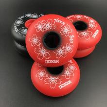 84a slalom patins inline sapatos roda de patinação fsk multi-uso uso alta elasticidade 50% rebote rodas para seba alta hv gyro
