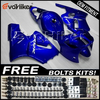 Custom fairing motorcycle bodywork kit for ZX-12R 2000-2001 ABS motor panels Injection mold blue+gifts