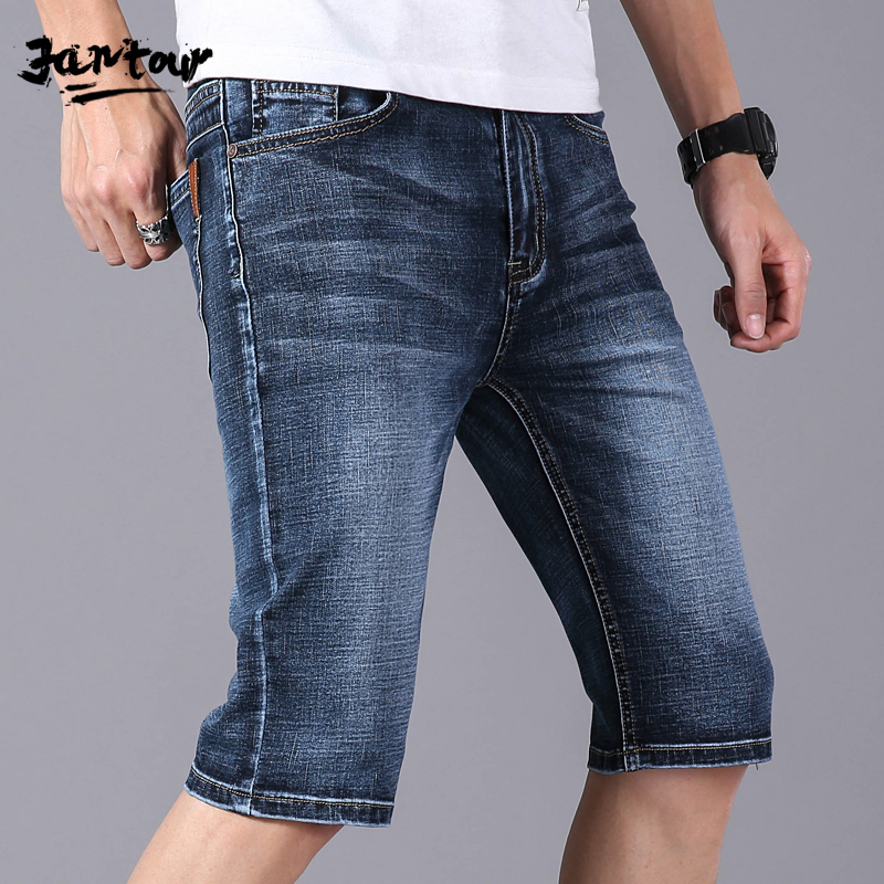 2019 Summer Men's Denim Shorts Good Quality Short Jeans Men's Jeans