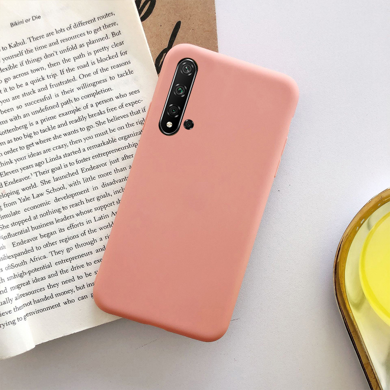 Cute Candy Color Soft Silicone Case For Huawei P40 P30 P20 Lite Y5 Y6 Y7 Y9 Prime 2019 P Smart Z Honor 10 10I 20 20I Pro Cover