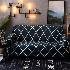 Image 5 - funda sofa elástica slipcovers l forma capas de sofá para sala de estar elastano barato secional capa de sofá 1/2/3/4 seater estiramento