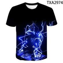 2020 New Summer 3D Print T Shirt Men Women Children Rock Disco Party DJ Music T-shirt Hip Hop Streetwear Cool Tops Tee Clothes