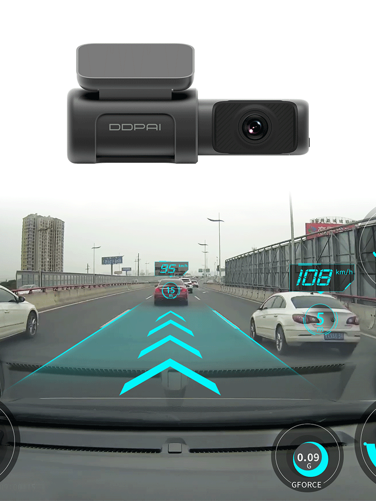 DDPai Dash Cam Mini5 4K 2160P UHD DVR Car Camera Android 5GHz Wifi Auto Drive Vehicle