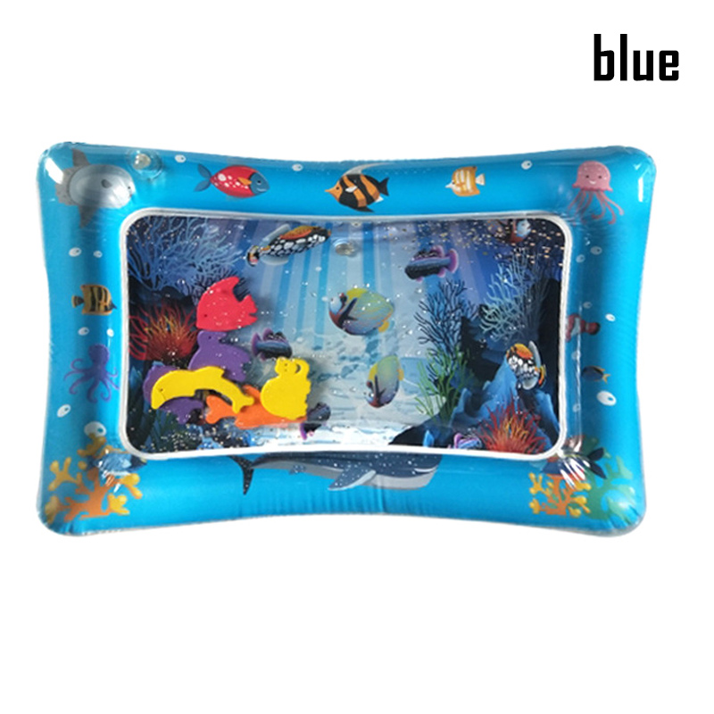 Hot Sale 1 Pcs Baby Kids Inflatable Water Mat Patted Play Pad Cushion Toys Early Education