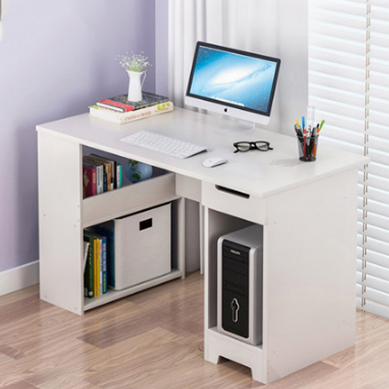 Simple Computer Desk Desktop Table Home Corner Desk Bookcase Integrated Simple Student Desk Laptop Desks Aliexpress