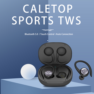 Image 2 - Caletop TWS Sports Running Wireless Earphones Ear Hook Bluetooth Noise Cancelling Headphones IPX4 Waterproof Headset with MIC