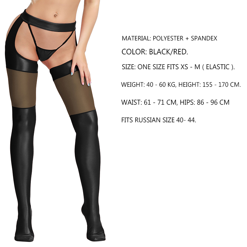 Faux Thigh One Size Fits Most Womens Striped Faux Thigh High Fishnet Pantyhose