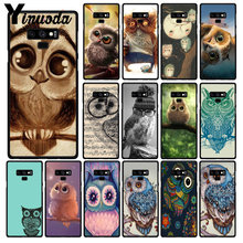 Yinuoda Dier Leuke Cartoon Uil Telefoon Case Voor Samsung Galaxy A50 Note7 5 9 8 Note10 Pro J5 J6 Prime j610 J6Plus J7 DUO(China)