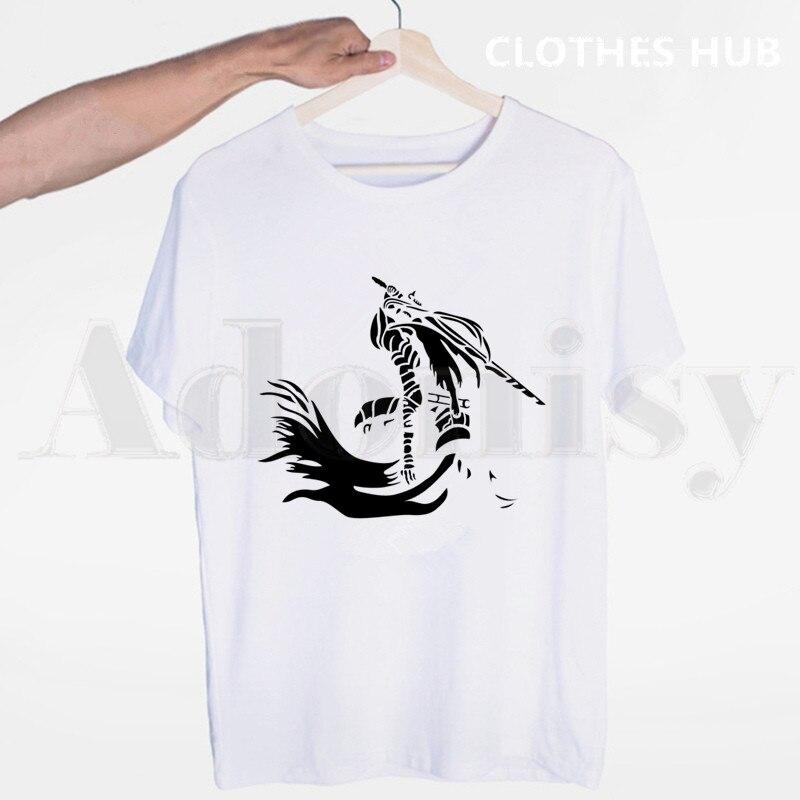 Dark Souls Signori di Cenere di Lordran Gaming Horror Pantaloni A Vita Bassa Degli Uomini T Shirt O-Collo Casual Estate T-Shirt Uomo Donna Magliette Magliette E Camicette