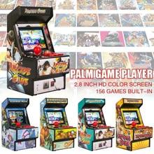 16 Bit Genitore bambino Giocatore di 156 Giochi di Giocattoli Schermo a Colori Palmare Joystick Modo Ha Stampato Mini Retro HD Console di Gioco di sviluppo