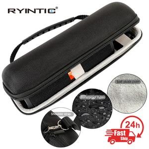 Image 1 - Hard Eva Shockproof Reizen Carry Kolom Case Cover Pouch Voor Jbl Flip 5 Flip5 Draadloze Bluetooth Speaker Met Riem Extra ruimte