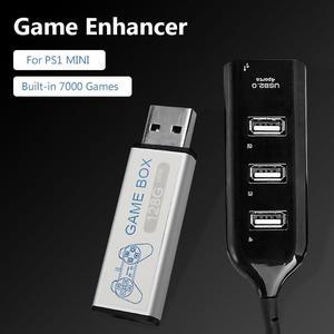 Image 1 - 128GเกมEnhancerแหล่งจำลองExpansion Pack Built In 7000เกมสำหรับPS1 Mini DNเกมกล่องอุปกรณ์เสริม