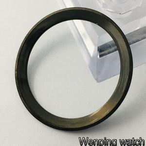 Image 5 - Nuovo 38 millimetri di alta qualità GMT ceramica/titanium Inserto lunetta misura 40 millimetri della cassa per orologi mens GMT orologio lunetta