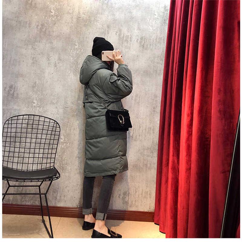 2019 neue Ankunft Mode Schlanke Frauen Winter Jacke Baumwolle Padded Warm Verdicken Damen Mantel Lange Mäntel Parka Damen Jacken AA-553