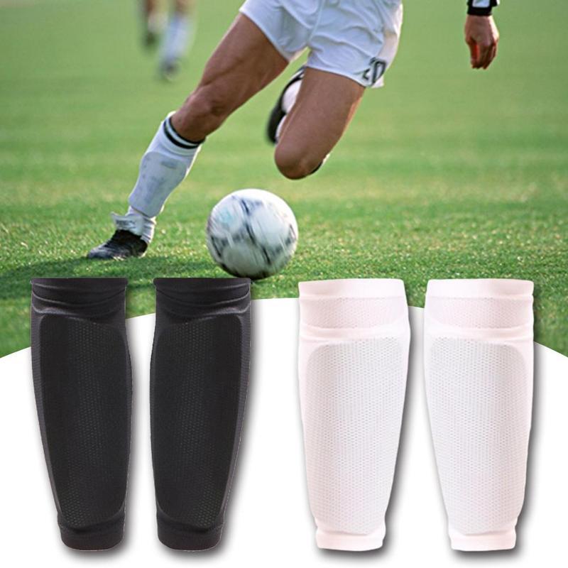 Football Leggings Socks Set Adult Children Breathable Mesh Wicking Fixed Double Calf Plugging Leggings Football Socks
