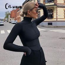 Rompers Women Bodysuit Overalls Outfits Velvet Long-Sleeve Streetwear Zipper Sexy Fashion