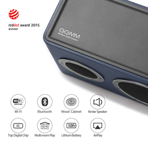 Image 2 - GGMM M4 40W Drahtlose WiFi Lautsprecher Tragbare Bluetooth Lautsprecher Schwere Bass Sound 16H für iOS Android Windows Mit MFi zertifiziert