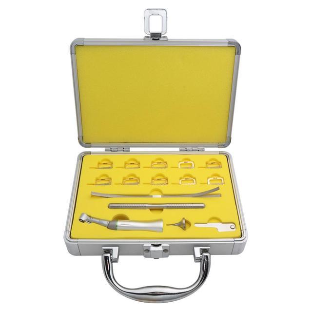 Dental Contra Angle Handpiece Kit 4:1 Reduction Interproximal Strips Reciprocating Dentist Tools Dental Lab Equipment