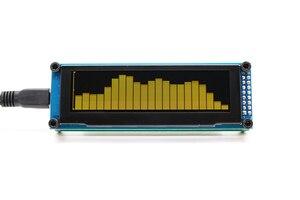 Image 5 - Link1 oled música indicador de espectro áudio amplificador velocidade ajustável agc modo 15 nível