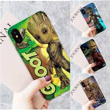 Motirunner Guardians of Galaxy Customer Soft fundas Phone Case Cover for iPhone 11 pro XS MAX 8 7 6 6S Plus X 5 5S SE XR cover(China)