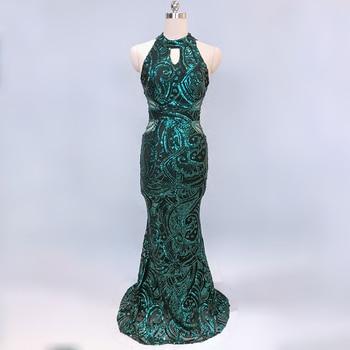 Mermaid Sequin Evening Dress Long Robe De Soiree Evening Gowns For Women Formal Dress Women Elegant Party Dresses Gowns 2020 6