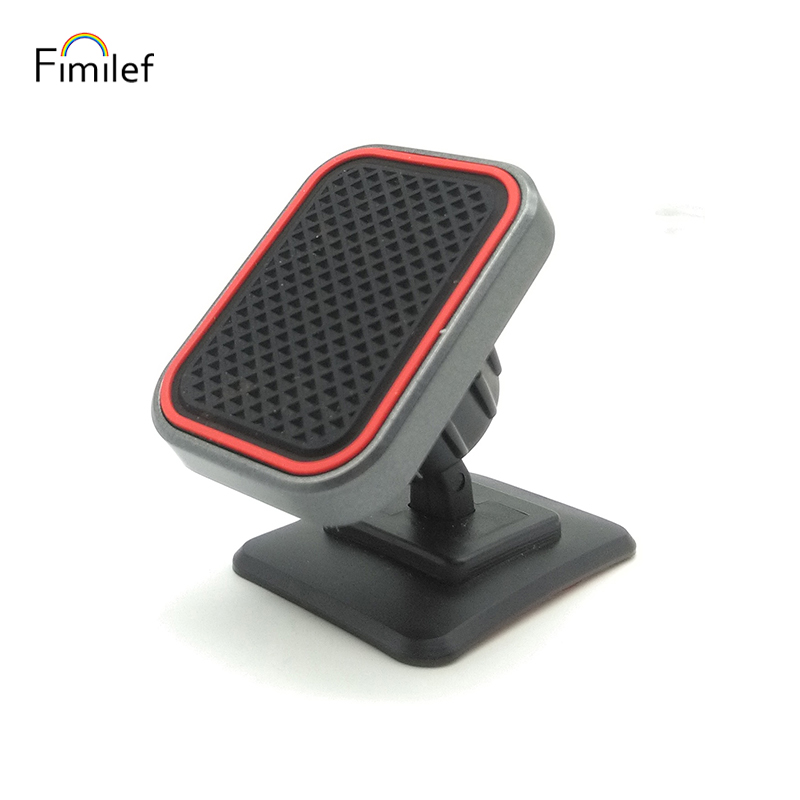 Universal Magnetic Car Phone Holder 3M Stick Car Dashboard Mount Stand 360 Degree Magnet Mount Mobile Holder For IPhone 8 7 11 X