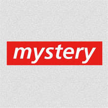 Fashion Biker Patch Clothes 28CM Mystery Logo Thermal Transfer Printing T shirt Women iron on patches for clothing Diy Stickers fashion patch diy clothes super cat 3d stickers thermal transfer printing iron on patches for clothing t shirt free shipping