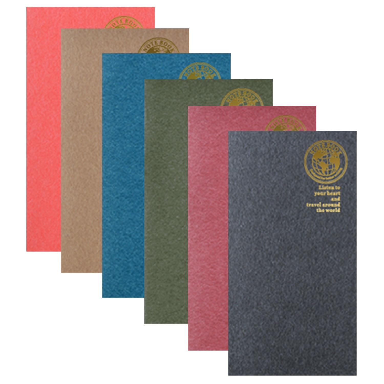 Fromthenon Vintage Planner Insert Refill Filler Paper For Midori Travelers Notebook Journal Passport Kraft Diary Dotted Daily
