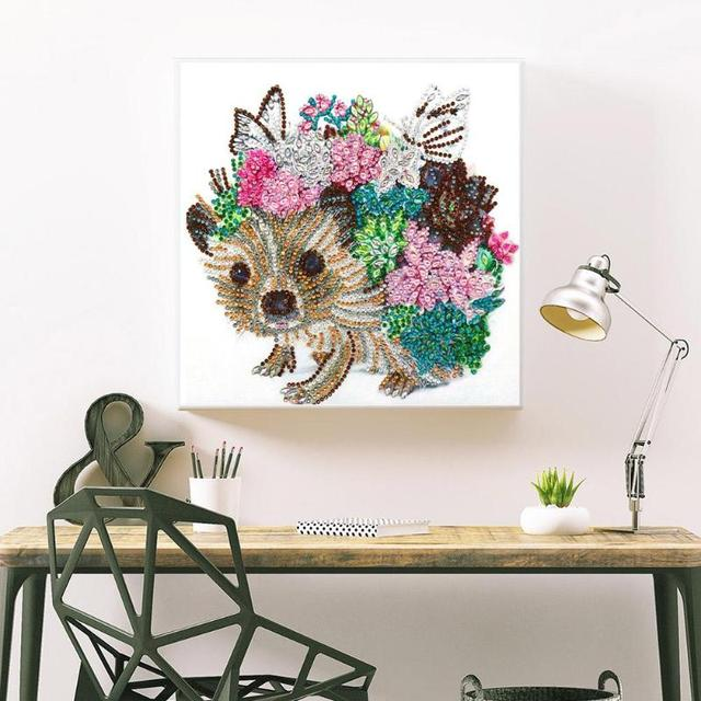 5D DIY Special Shaped Diamond Painting