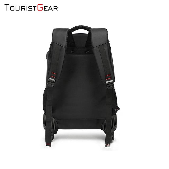 school backpack with Wheel Waterproof Luggage Travel trolley bag business Laptop Backpack Men Carry-on Wheel Rolling Suitcase 6