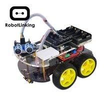 Arduino 블루투스 섀시 슈트 용 스마트 카 로봇 키트 호환 UNO R3 DIY 키트 RC 전자 무료 배송