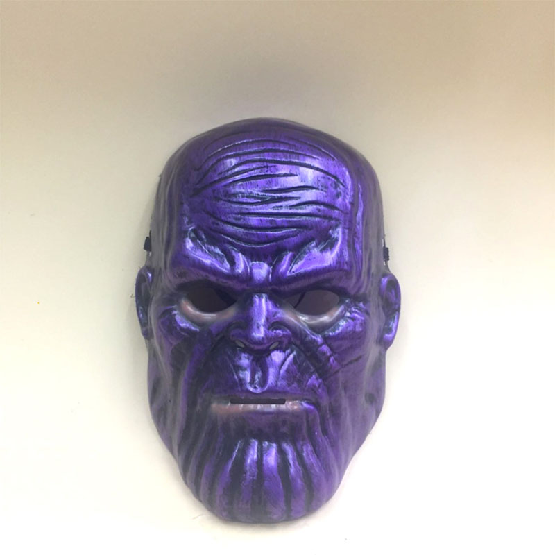 Super Hero Thanos Cosplay Mask Helmet Infinity Gauntlet Masks Superhero Halloween Costume Party Props Supplies