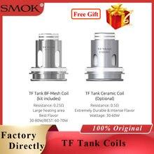 Original Vape Core SMOK TF Tank BF-Mesh Coil 0.25ohm/c Ceramic Head for Morph 219 Vape Kit/stick 80w TF Tank adidas топ tf tank solid