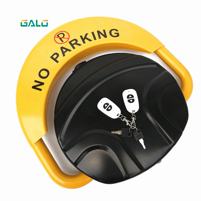 Remote Car Intelligent Remote Control Parking Lock Thickene Anti-collision Garage Automatic Induction Waterproof Wholesale Price