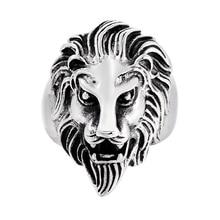 Loredana Superior quality majesty lion fine polished high-grade stainless steel men's ring shows gentlemanly demeanor loredana del monte куртка