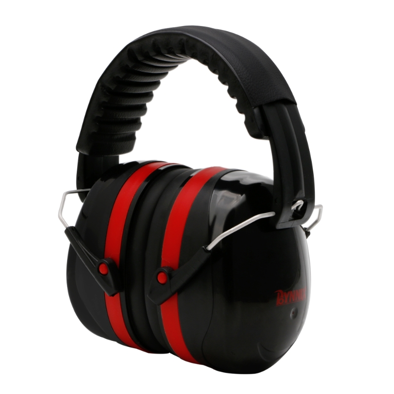 Noise Reduction Folding Headband Earmuffs Hearing Safety Muffs Sound Insulation LX9E