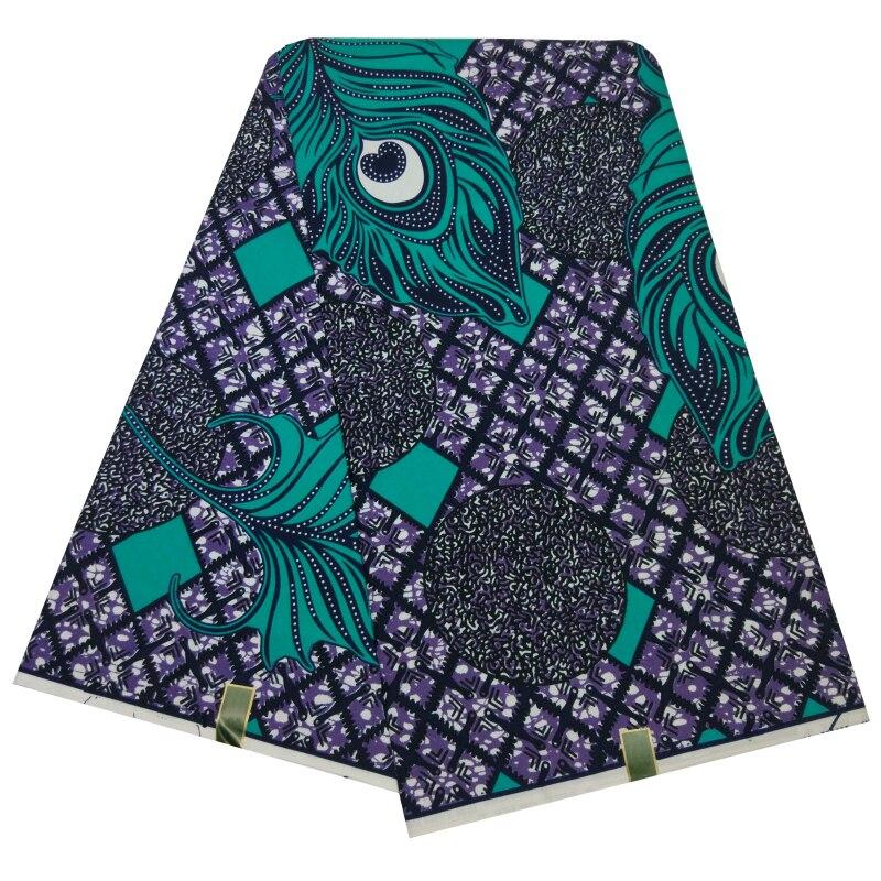 Beautiful African Wax Printed Fabrics Veritable Wax Soft Real Wax Ankara Dutch Java Wax Fabric 100% Polyester