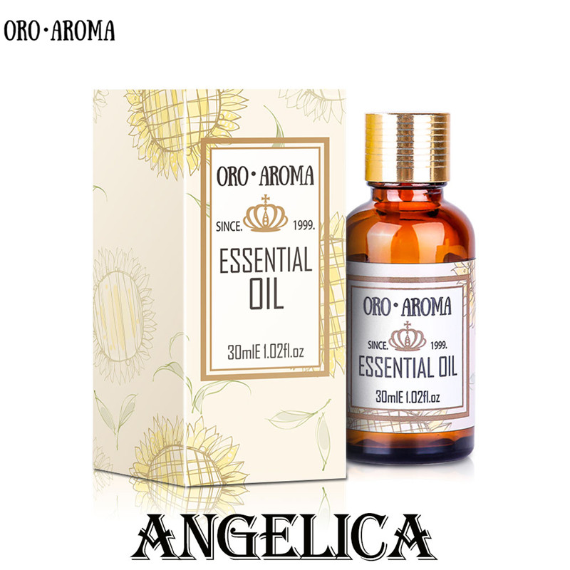 Famous brand oroaroma natural Angelica oil Dilation of blood vessels Promoting hepatocyte regeneration Angelica essential oil