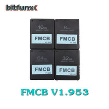 Bitfunx v1.953 FMCB gratuit McBoot 8 mo/16 mo/32 mo/64 mo carte pour Sony PS2 Playstation2(China)
