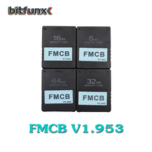 Bitfunx v1 953 FMCB Free McBoot Card for Sony PS2 Playstation2 8MB 16MB 32MB 64MB Memory