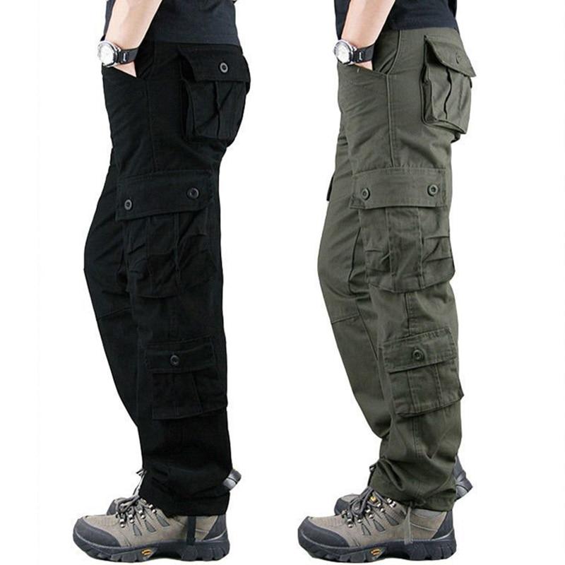 8 Pockets Tactical Cargo Pants 1