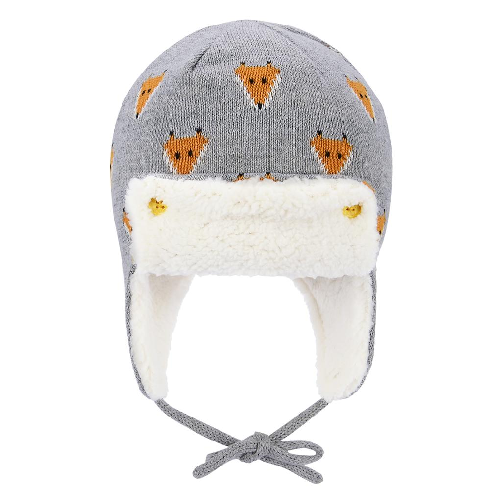 Winter Warm Baby Hats Infant Toddlers Boys Girls Pilot Aviator Warm Caps Soft Eargflap Hat Beanies Cap Pilot Cap For 0-4 Years